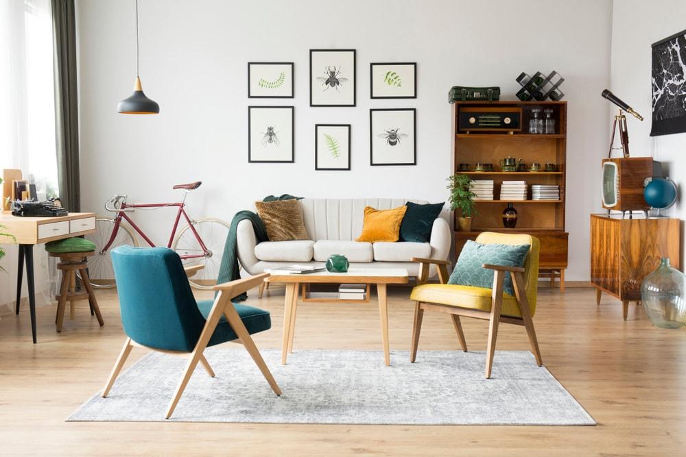 vintage au naturel pour les meubles
